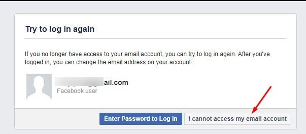 Reset your FB password without email